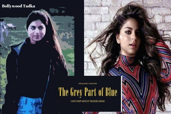 shahrukh khan daughter suhana khan film the grey part of blue