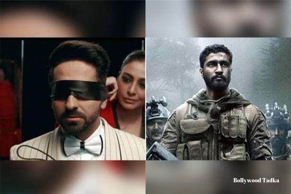 ayushmann khurrana vicky kaushal movie andhadhun and uri the surgical strike