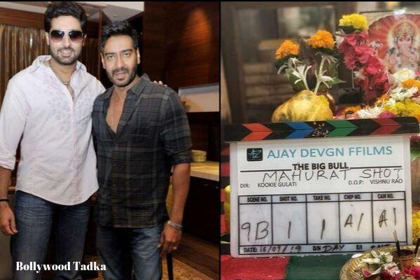 abhishek bachchan new movie the big bull movie shooting start