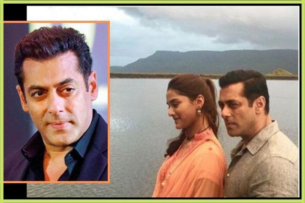sai manjrekar and salman khan