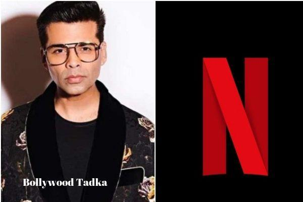 karan johar dharmatic entertainment partnership with netflix