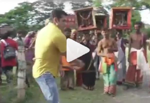salman khan beats himself harshly with hunter