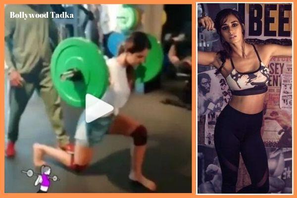 disha patani gym video got viral