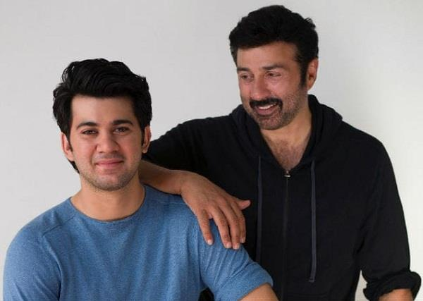 sunny deol saying about his son karan deol