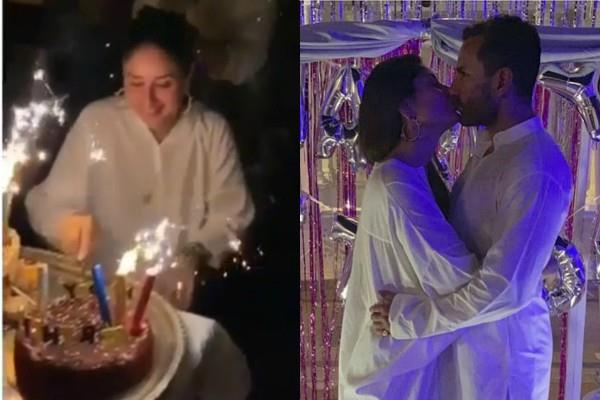 kareena kapoor khan celebrate her birthday in pataudi house with family