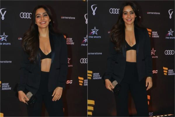 neha sharma attend indian sports honours ceremony event
