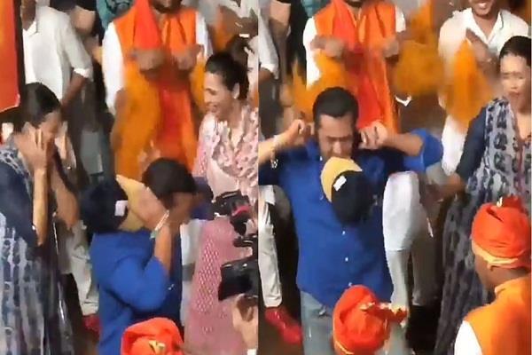salman khan dance on ganesh visarjan video goes viral