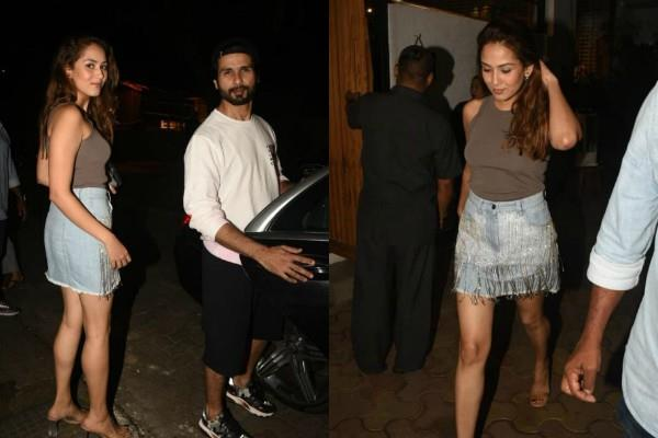 shahid kapoor spend some me time with wife mira rajput