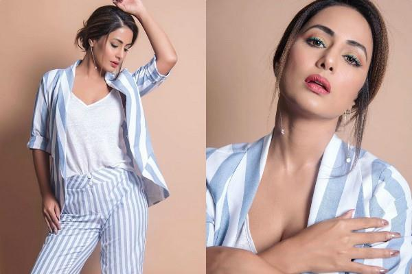 hina khan looks stunning with quirky makeup see her latest pictures