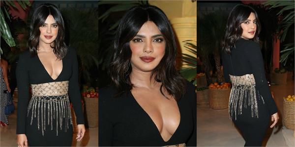 priyanka chopra attend oscar la renta nyfw runway show