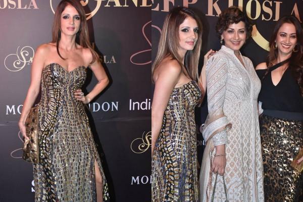 sussanne sonali bendre gayatri oberoi at abu jani sandeep khosla fashion show