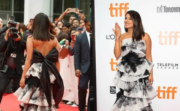 priyanka chopra looks stunning at the sky is pink premiere tiff