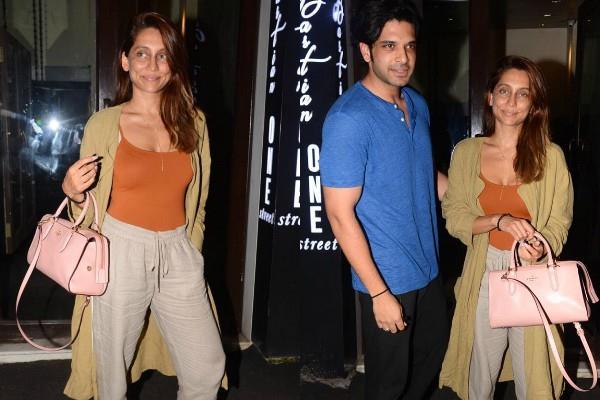 karan kundra dinner date with girlfriend anusha dandekar
