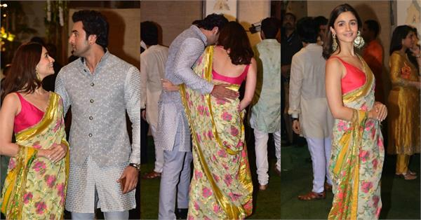 ranbir kapoor alia bhatt attend mukesh ambani ganesh chaturthi celebration