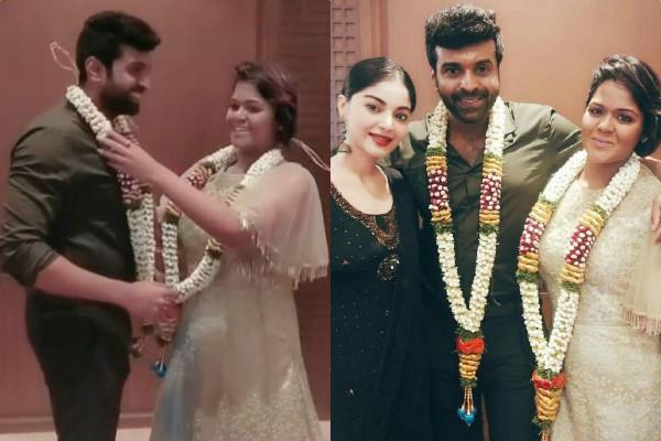 actor sathya gets married singer ramya nsk