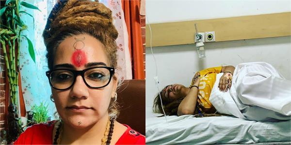 bigg boss 11 ex contestant shivani durga admitted to hospital