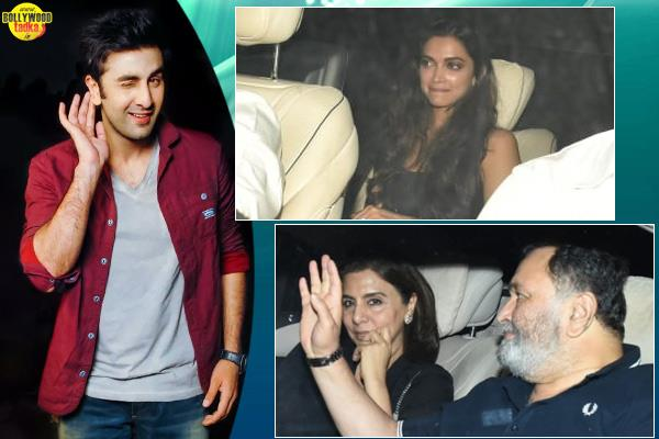 deepika padukone shahrukh and aamir attended ranbir kapoor birthday bash