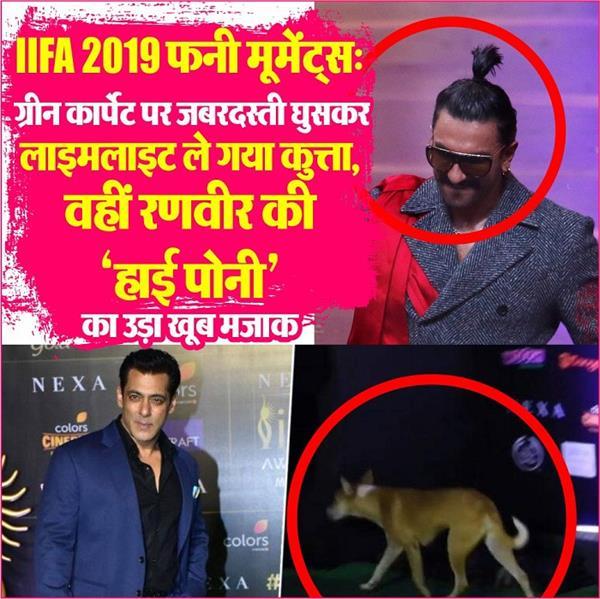 iifa awards 2019 funny moments