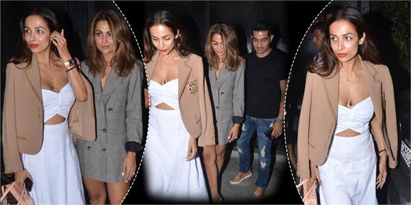 malaika arora latest pictures with amrita arora and shakeel ladak