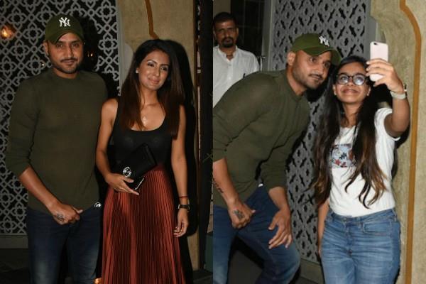 geeta basra dinner date with hubby harbhajan singh