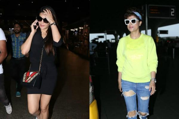 tahira kashyap jacqueline fernandez airport looks pictures