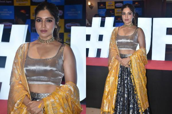 actress bhumi pednekar gorgeous look at event see pics