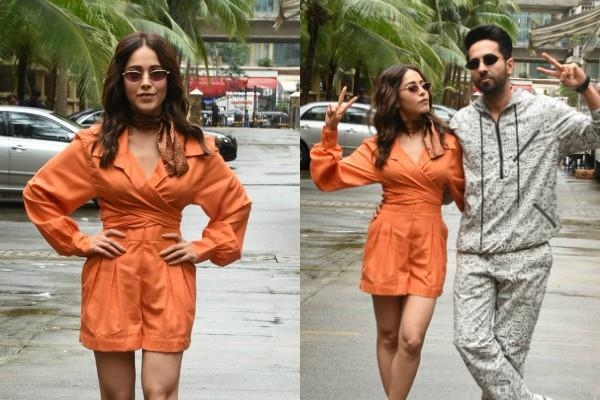 nushrat bharucha promoting movie dream girl with ayushmann khurrana
