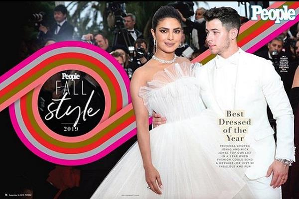 priyanka chopra nick jonas top people s best dressed list