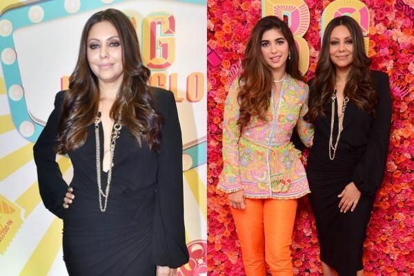 gauri khan look stylish as she attended the brand bollyglow event