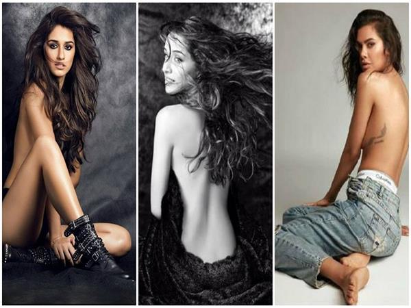 topless photshoot of bollywood actress