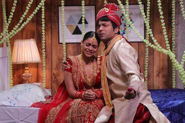 the kapil sharma show chandu marry with sumona chakravarti