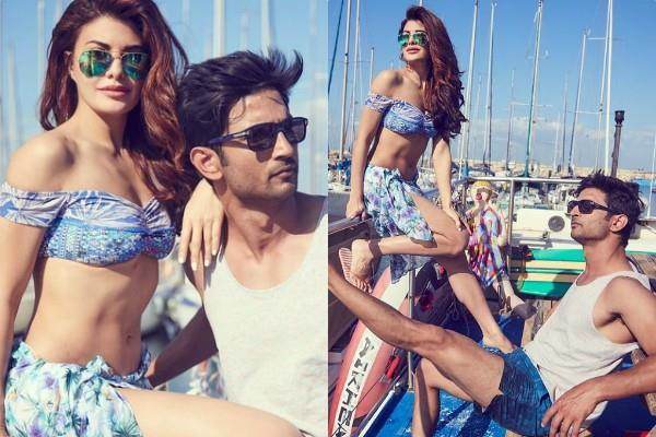 jacqueline fernandez shares pictures with sushant singh rajput