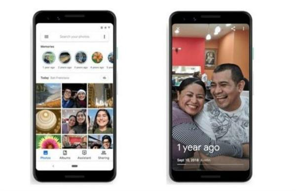 google photos added features like instagram stories