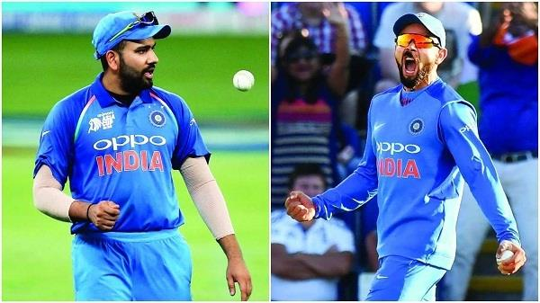 race between kohli and rohit became the topic of discussion