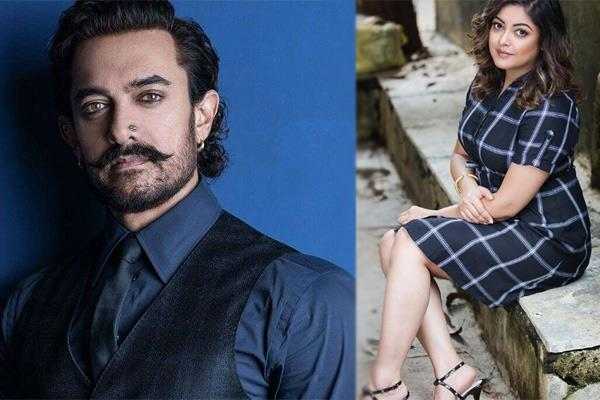 tanushree dutta on aamir khan working with metoo accused subhash kapoor