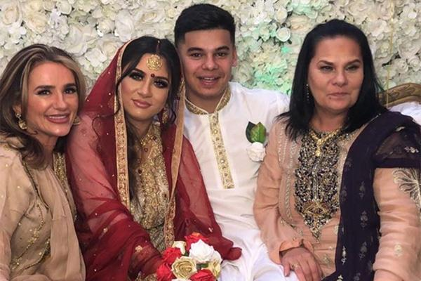 zayn malik17 year old sister got married see photos