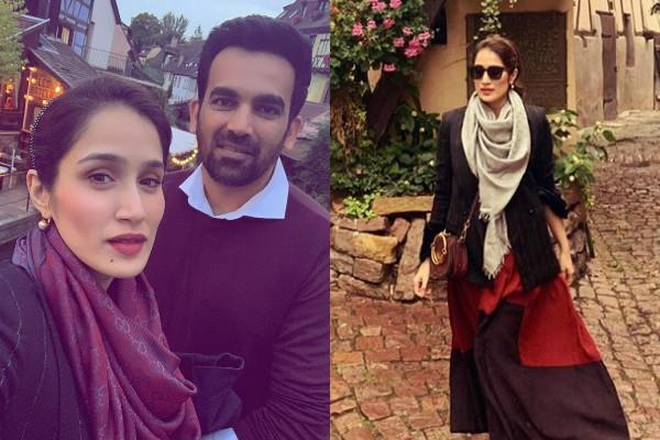 sagarika ghatge spend quality time with husband zaheer khan in paris