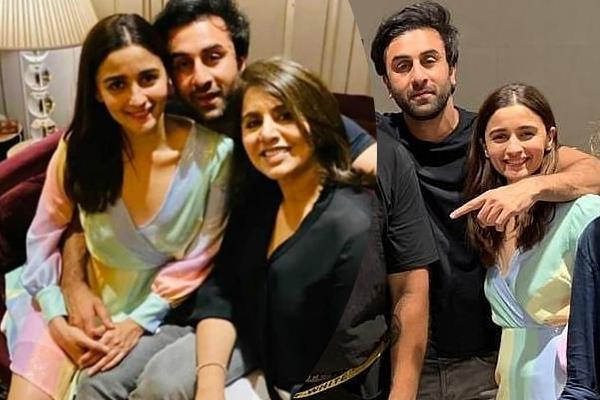 alia bhatt get cozy with boyfriend ranbir kapoor at his birthday bash