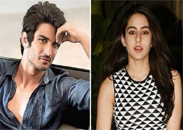 sushant singh rajput denies to work with ex girlfriend sara ali khan