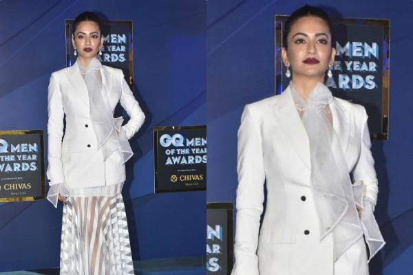 kriti kharbanda stunning look at gq awards
