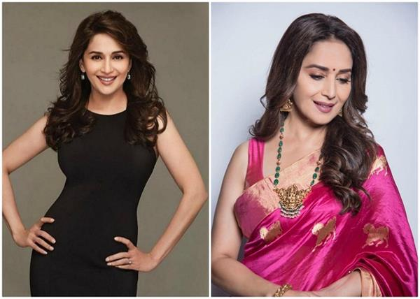 know from madhuri how she takes care of hair in bad weather