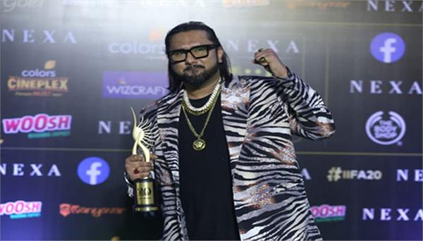 yo yo honey singh recieves best music direction award