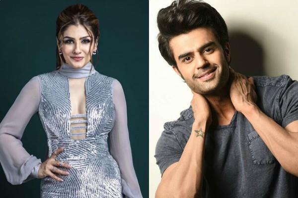 raveena tandon get miffed with manish paul shoot stalled for 1 hour