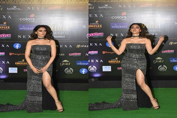 aditi rao hydari looked stunning in iifa award 2019