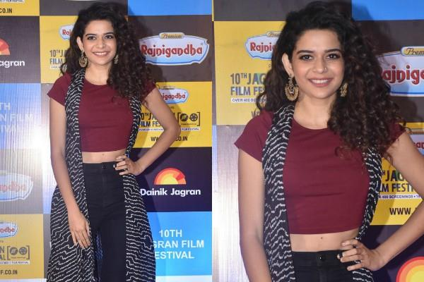 little things actress mithila palkar classy look