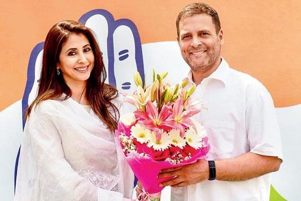 urmila matondkar quits congress ahead of maharashtra polls