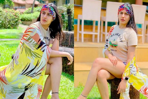 surbhi chandna enjoy vacation in goa see her latest photos