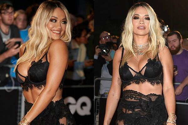 rita ora attend gq men year awards 2019