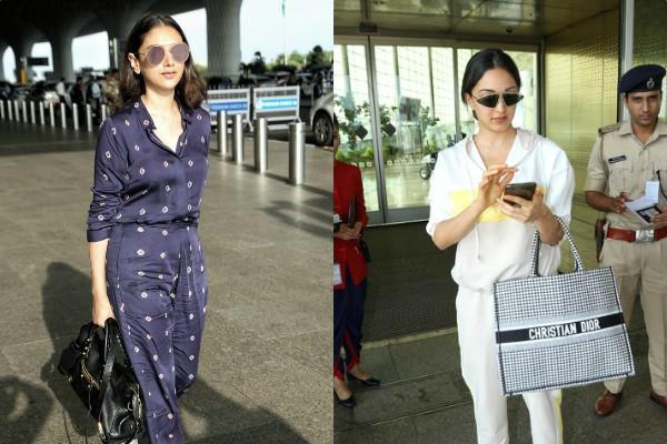 kiara advani aditi rao hydari spotted at airport see pictures