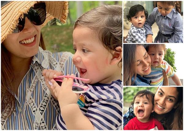 this picture of meera and her son went viral